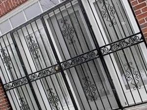 Eddie and Suns locksmith window gates installation
